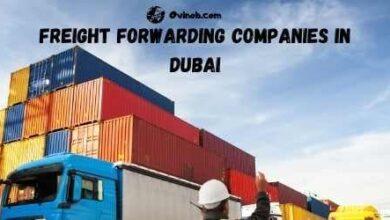 Freight forwarding companies in Dubai